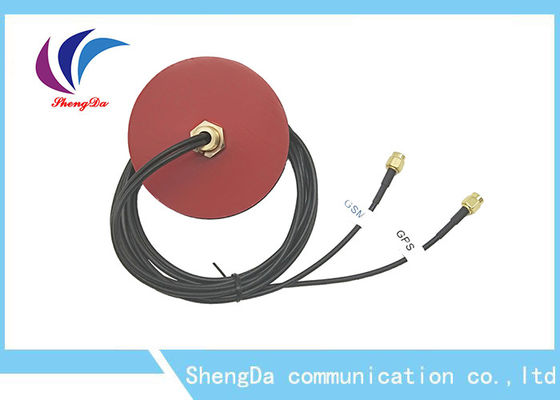China Two In One Car GPS External Antenna GPS / GSM Double-Mode M12 Screw Fixation factory