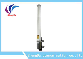 China High Gain Power Fiberglass Omni Antenna , Omni Wifi Antenna Outdoor 6dBi Base Staion factory
