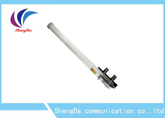 China Waterproof / Rugged Omni Fiberglass Antenna 12dBi 5725-5850MHz Vertical Polarization factory