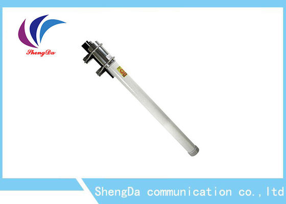 China 2.4G / 5.8GHz Wifi Omni Fiberglass Dual Band Antenna 6dBi With N - Female Connector factory