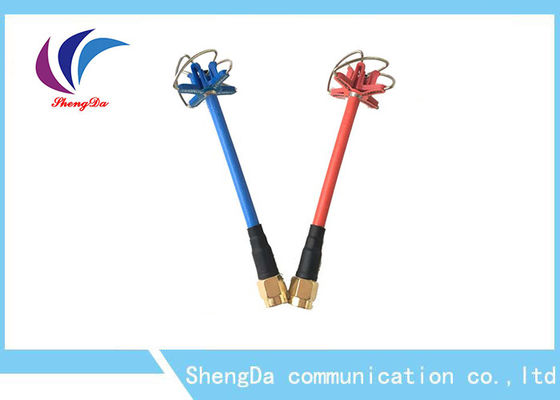 China FPV Model External Dual Band Antenna Omni Directional 5.8G All - Around Remote UAV Receiving factory