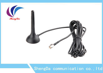 China Mini Omni Directional GSM CDMA Antenna High Gain 3dBi With Magnetic Base factory
