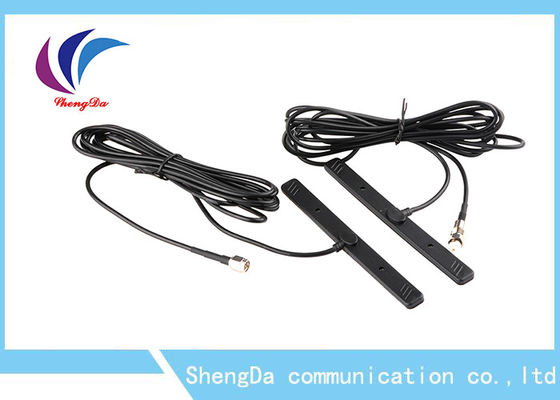 China 8dBi GSM Patch Antenna , GSM Booster Antenna 3m Glue For Vehicle / Base Station factory
