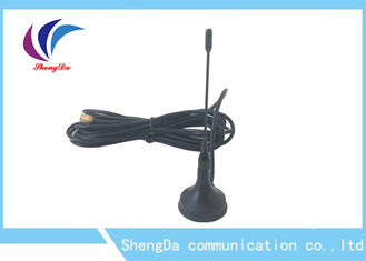 China Small Sucker GSM Amplifier Antenna , Mobile Signal Antenna Apply To Wireless Equipment factory