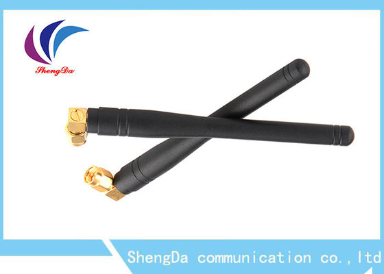 China CDMA GSM Whip Antenna , Rubber Duck GSM Signal Antenna Omni Directional 105mm Length factory