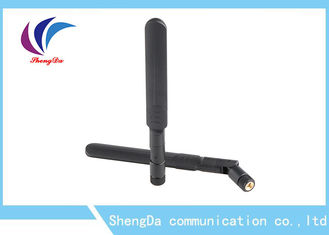 China Dual Band Rubber Duck Antenna SMA Male Connector 2400-2500 / 5150-5850MHz factory