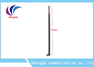 Full Band Rubber Duck Aerial , Vertical High Gain Wifi Rubber Mast Antenna 390mm Length