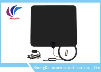 China Detachable Amplifier UHF VHF TV Antenna 3m RG174 Coax Cable Vertical Polarization factory