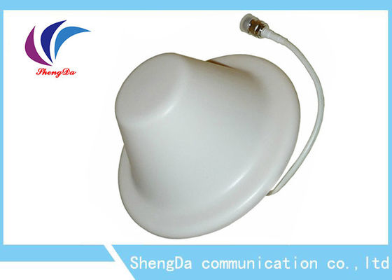 China Vertical Polarity Omni Ceiling Mount Antenna , Wifi Ceiling Antenna 50 Ohm Impedance factory