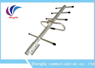 China High Gain 8dBi Yagi Directional Antenna , Yagi Long Range Wireless Antenna F Female Connector factory
