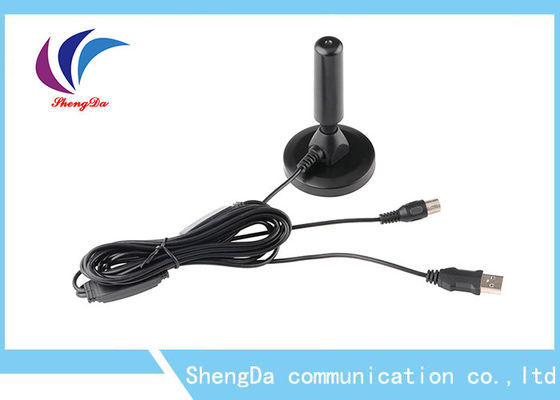 China HDTV Indoor VHF UHF Digital Antenna Detachable Amplifier Booster Size 62*105mm factory
