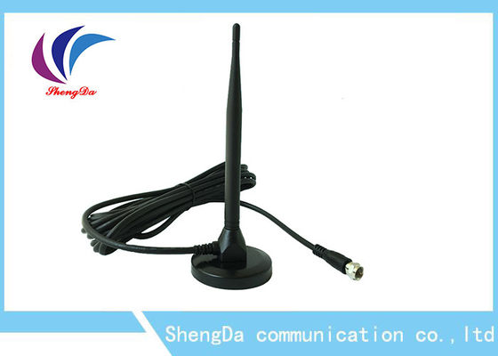 China Pigtail UHF VHF Long Range HDTV Antenna , Omni Directional TV Antenna RG58 Cable factory