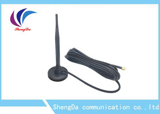 China Omni Directional 433MHZ High Gain Antenna / Sucker Antenna with Magetic Base factory