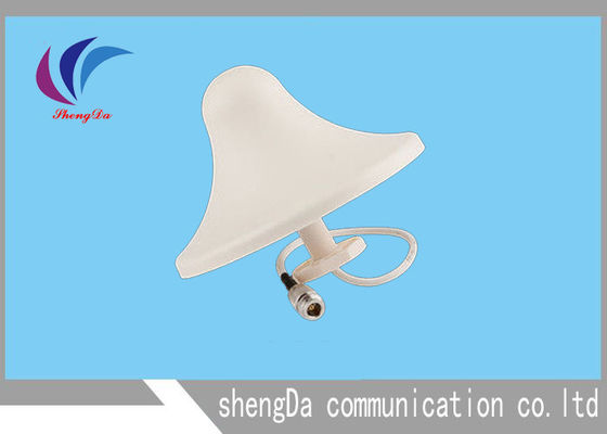 Indoor 698-2700MHZ Ceiling Mount Antenna 5dbi Gain Omni Directional ABS Material