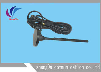 Magnet Base Wireless Router Antenna , Wifi Signal Catcher Antenna Vertical Polarization