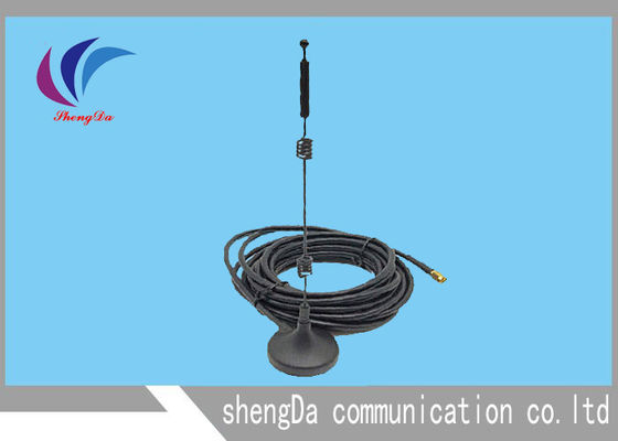 China Three Netcom GSM CDMA Antenna Sucker Router Wifi Type With Double Springs factory