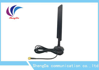 Vertical Polarization 4G LTE Antenna 698-2700MHz Omni Desktop Aerial Mount And Gain