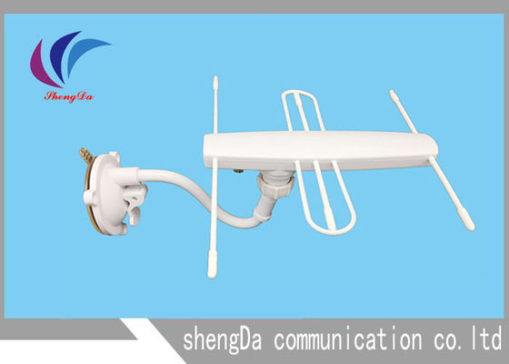 UHF VHF digital TV Antenna High Gain 30dBi DVB-T T2 Yagi Type With Ampliifer