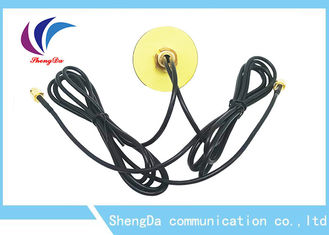 China Dual Band 4G High Gain LTE Antenna GPS Navigation Combined Aerial With SMA Male Connector factory