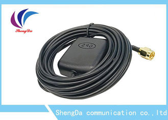 Auto GPS 4G LTE Antenna Magnetic Base Short Circuit Protection 1575.42MHZ Frequency