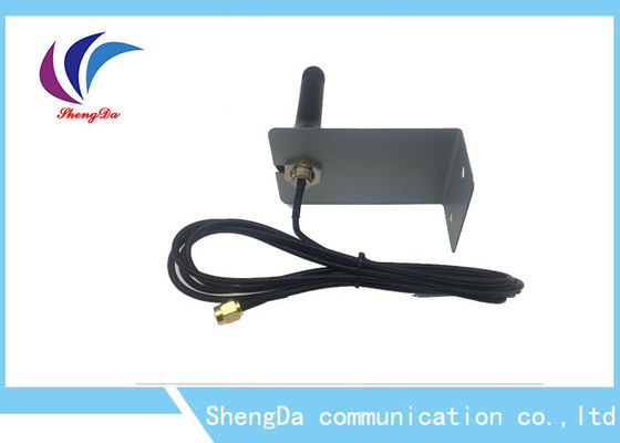 China SMA-J Connector 433mhz Long Range Antenna , High Gain Rubber Duck Antenna 5dbi factory