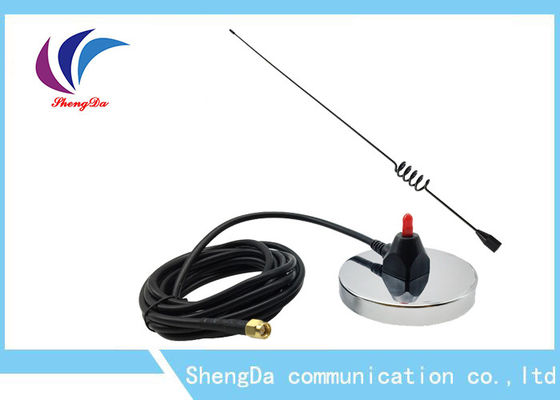 China Stainless Big Sucker Plate Base 4 High Gain 433mhz Antenna Omni Directional Vertical Polarization factory