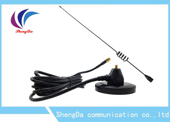 China Vertical Polarization 433MHZ High Gain Antenna Black Big Sucker Plate Base factory