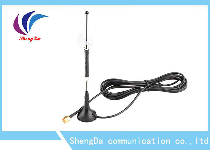 Magetic Base 4G LTE Antenna Terminal 50W 698-2700Mhz SMA Connector 3m Cable supplier