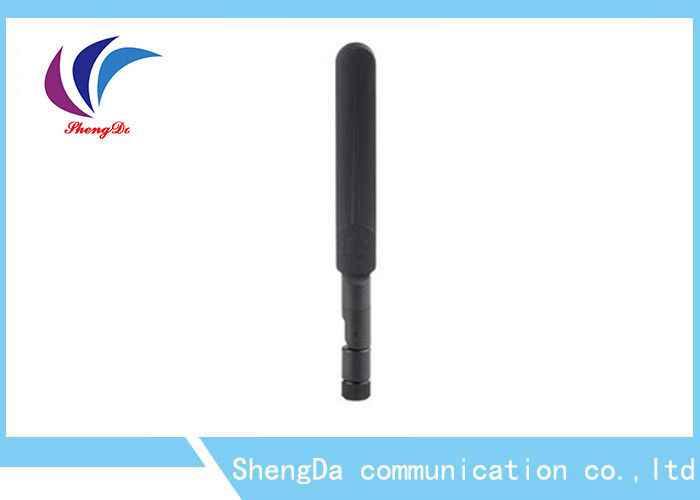 3dBi Short Rubber Dual Band Antenna 2.4G / 5.8G IP65 Waterproof With RP - SAM Plug supplier