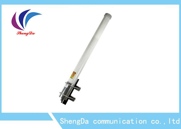 100w 5GHz Omni Fiberglass Antenna Directional Cover For Ourdoor Networking supplier