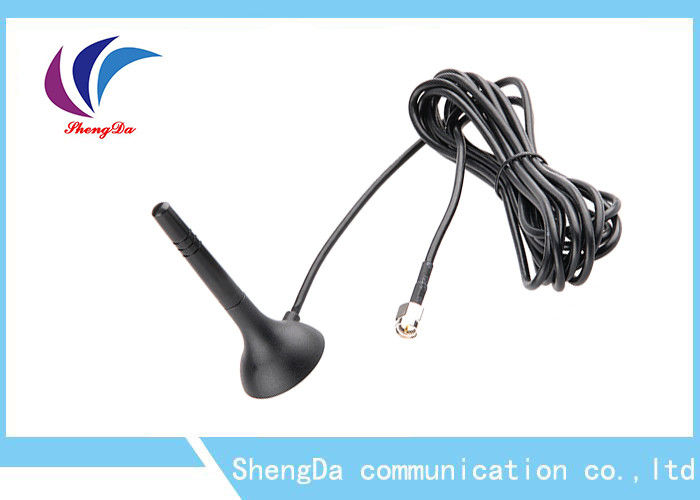 High Gain Magnetic 2.4 G Wifi Antenna 2400-2500MHz RG174 Cable 120g Long Range supplier