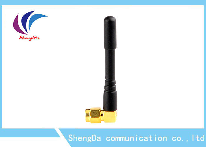 Right Angle GSM CDMA Antenna Omni Directional 50w With SMA - J Connector supplier