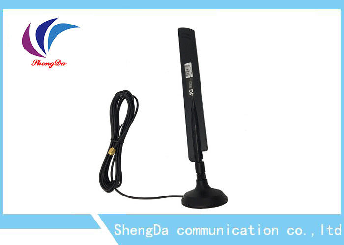 3G / 4G External LTE Dual Mini Antenna With SMA-J Connector 3 Mile RG174 Cable supplier
