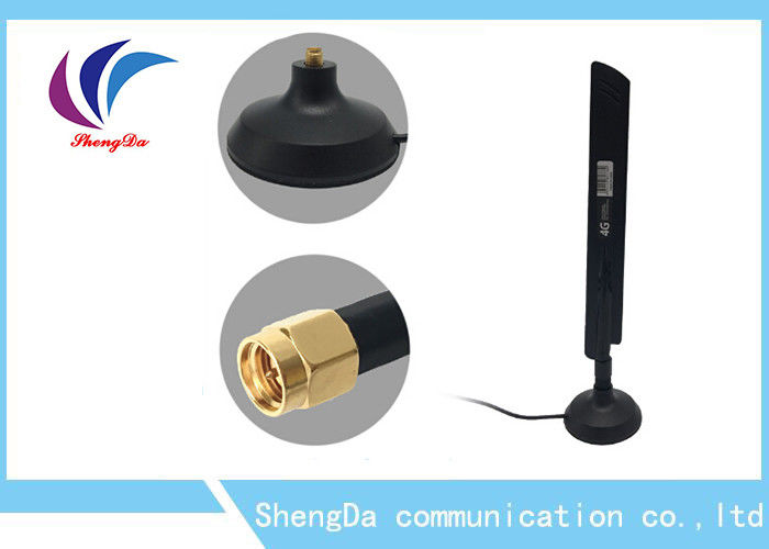 Long Range 4G Network Antenna , Ultra Directional Outdoor LTE Antenna 5dBi supplier