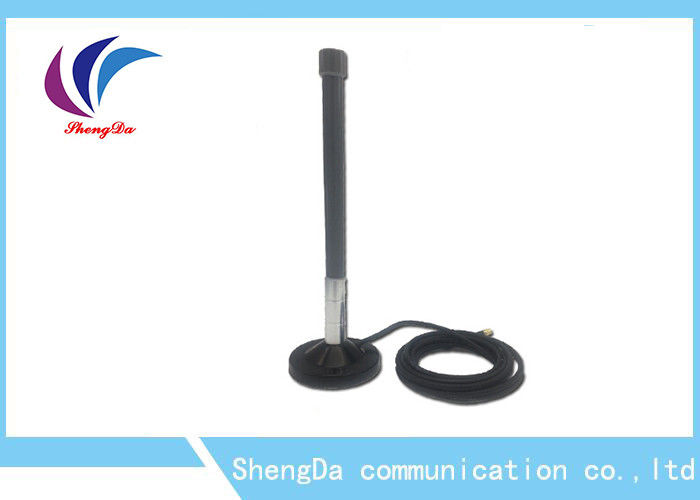 Fiberglass 2.4G / GSM / 4G LTE Antenna Ourdoor Waterproof 3 Mile Magnetic Base supplier
