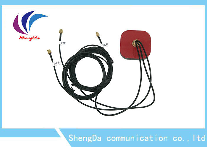 Three In One Antenna GPS Auto Wireless , ROHS GPS Antenna For Car 5V Power supplier