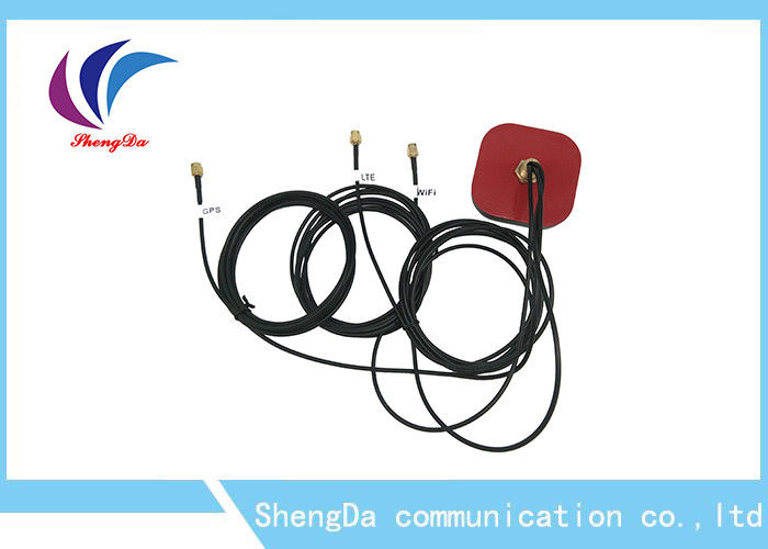 Long Range Wireless GPS Antenna , High Gain Automotive GPS Antenna Lightning Protection supplier