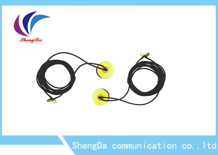 GSM Active Auto GPS Antenna ABS Material Magnetic / Adhesive Mount 50w Power supplier
