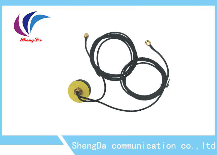 3 Metre Coaxial Cable Car Antenna GPS High Gain Omni Directional 50ohm Impedance supplier