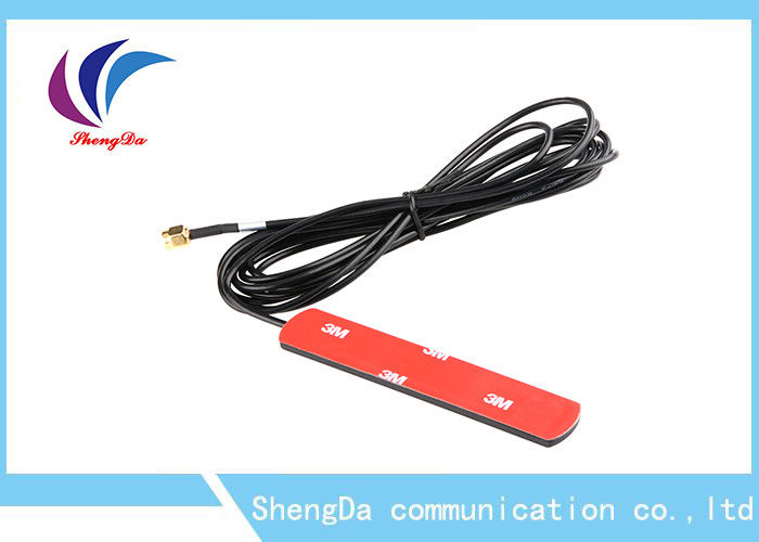 Plastic Adhesive Base LTE 4G Directional Antenna DC 5V Power 3m RG174 Cable supplier