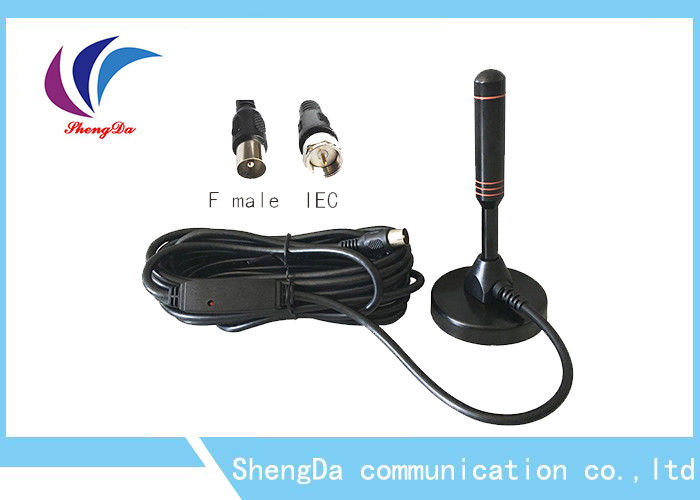 30dBi Sucker Whip VHF UHF Digital Antenna RG174 Coaxial Cable ROHS Approval supplier