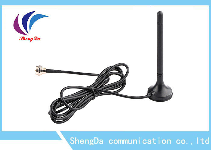 Omni Directional Magnetic TV Antenna , UHF VHF Digital Aerial Antenna DVB-T / DVB-T2 supplier