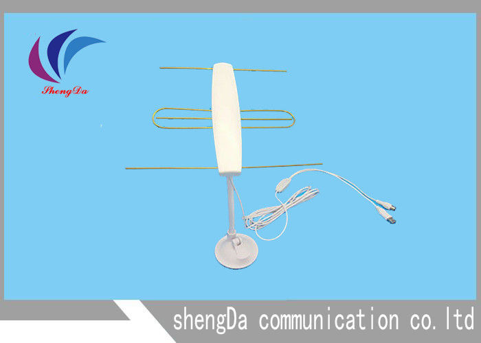 30dBi Yagi Antenna Mobile Signal Booster VHF174-230 / UHF470-862MHZ With IEC Connector supplier