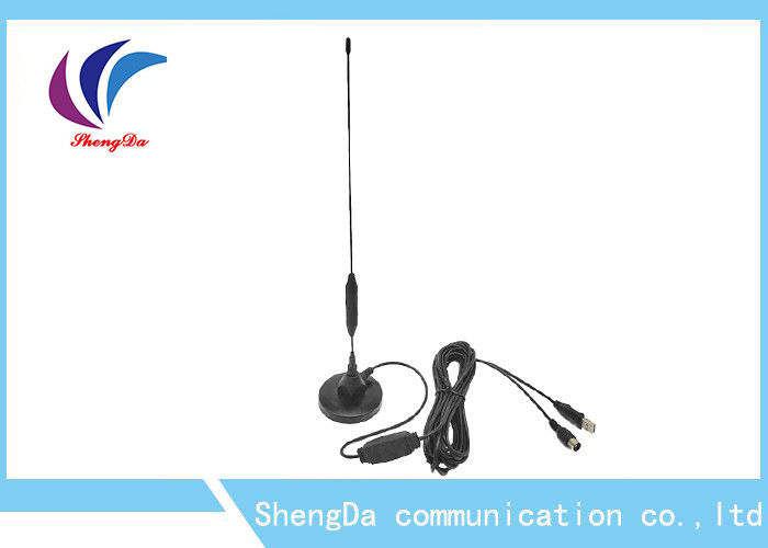 High Gain 25dBi VHF UHF Digital Antenna RG 58 Coaxial Cable Vertical Polarization supplier