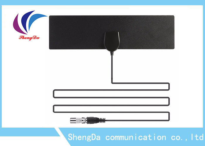 DVB-T2 ASTC VHF UHF Omni Directional TV Antenna Detachable Amplifier Signal Booster supplier