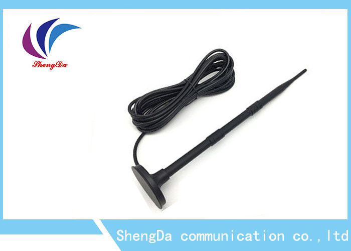 SMA Male High Gain 4G Antenna , USB 4G Antenna Coaxical Connector Cable Extension 3 Metre supplier