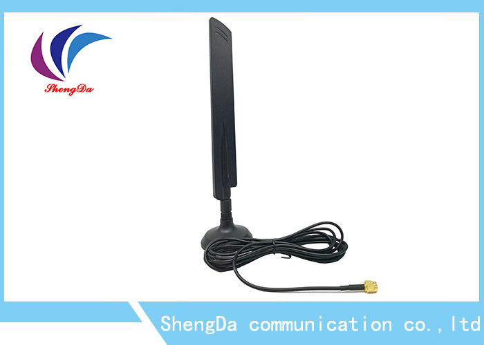 Magnetic Base Mounting 4G LTE Signal Booster Antenna With 3m Long Cable supplier