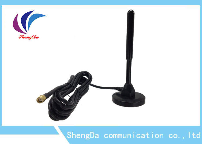 LTE High Gain 4G Antenna Omni Directional Pure Copper Rod RG58 Cable 6dbi supplier