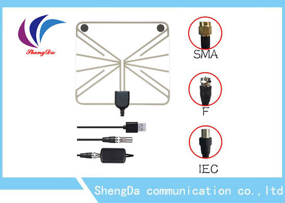28dBi High Gain UHF VHF TV Antenna 3 Mile Coax Cable 50w 3-5V Vertical Polarization