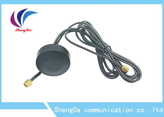 China High Gain 28dBi Auto GPS Antenna 1.5m Cable Length For Dash DVD Head Unit Stereos distributor